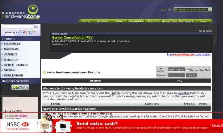 HSBC SG Forums Catfish