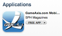 GameAxis iPhone