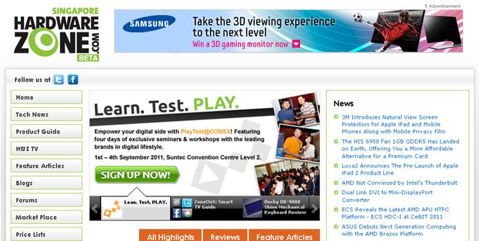 Samsung 3D Monitor