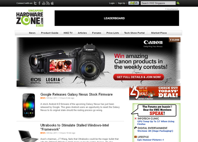 Canon EOS Personified – Adventures of the HardwareZoners