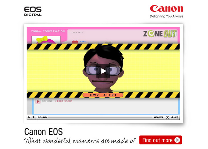 Canon EOS Personified