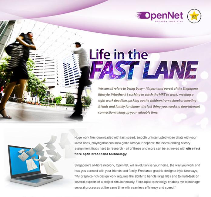 OpenNet Fibre