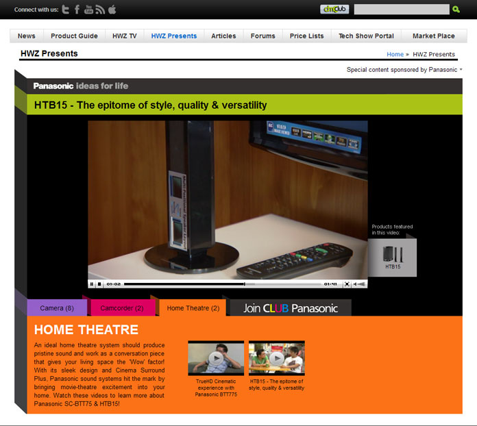 Panasonic Videotorial