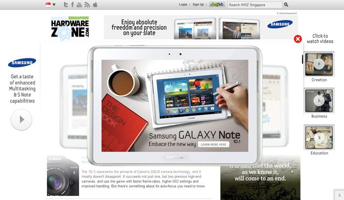 Samsung GalaxyNote 10.1