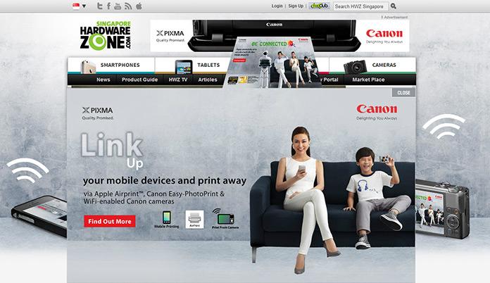 Canon PIXMA Wireless – MG6370