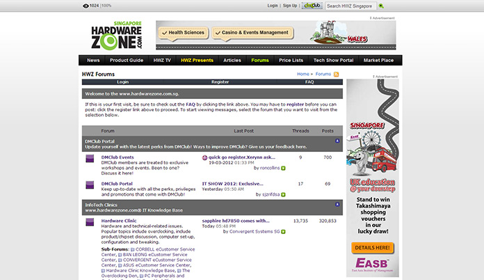 EASB Synchronised Ad