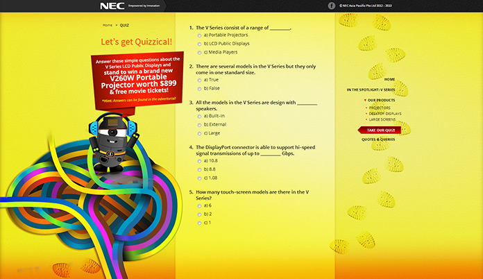 NEC APAC 2012