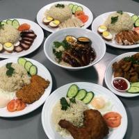 KL Chicken Rice & Pork Leg Rice