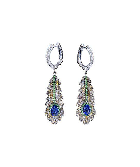 Drop earrings, from $5,500, [B]Asian Artistry Fine Jewellery[/B]