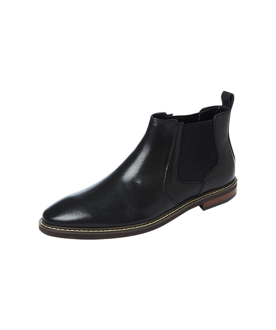 Men Black Leather Chelsea Boots, $80, [B]Bata[/B]