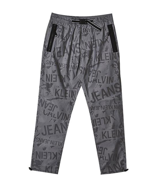 Reflective logo tracksuit bottoms, $259, [B]Calvin Klein Jeans[/B]