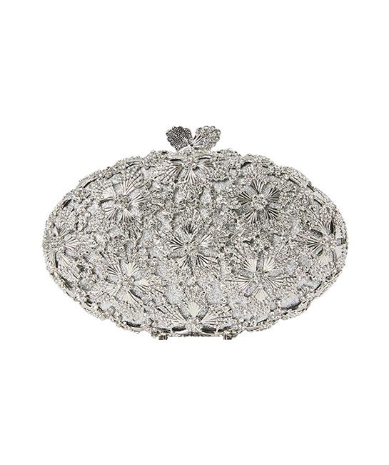 Crystal evening bag, $399, [B]Chomel[/B]