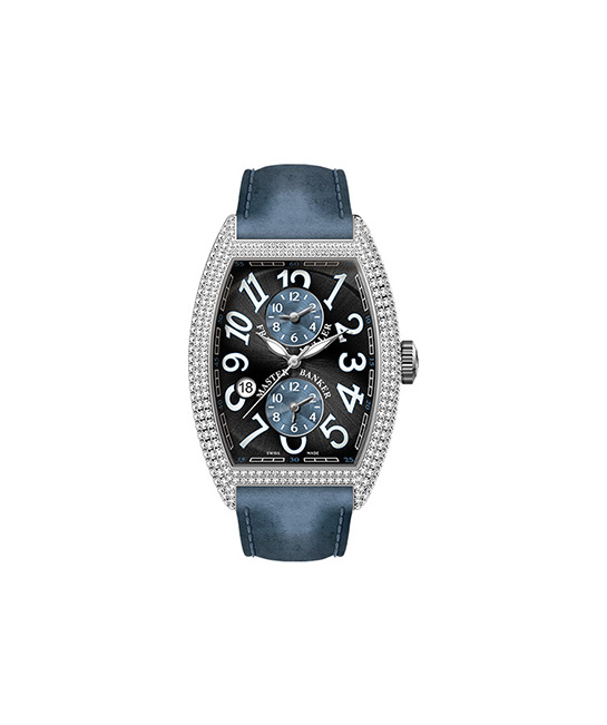 Cintrée Curvex Master Banker Asia Exclusive in Stainless Steel with Diamonds, $48,129, [B]Franck Muller[/B]