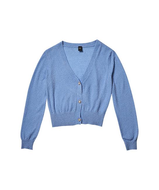 Fuzzy knit cardigan, $73, [B]GG<5[/B]
