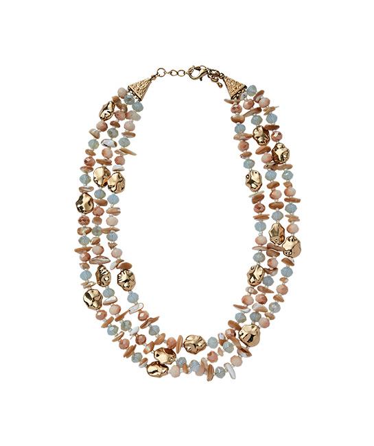 Ayana stone layered necklace, $39.90, [B]Island Shop[/B]