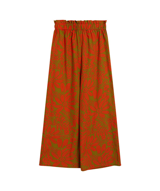 Tropical print trousers, $59.90, [B]Mango[/B]