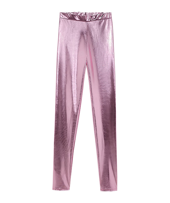 Metallic leggings, $55.90, [B]ZARA[/B]