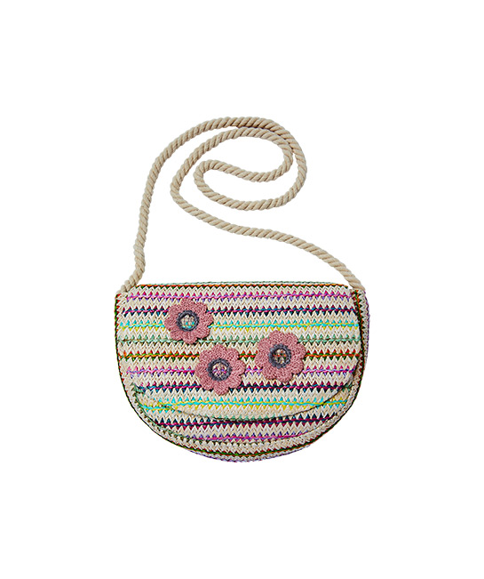 Rainbow flower bag, $24.99, [B]Cotton On Kids[/B]