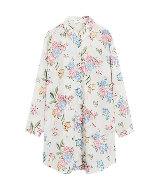 Oversized cotton shirt, $55.90, [B]Mango[/B]