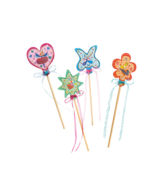 DJECO DIY little fairies magic wand, $19.90 (4 pieces), [BR][B]THE BETTER TOY STORE[/B]
