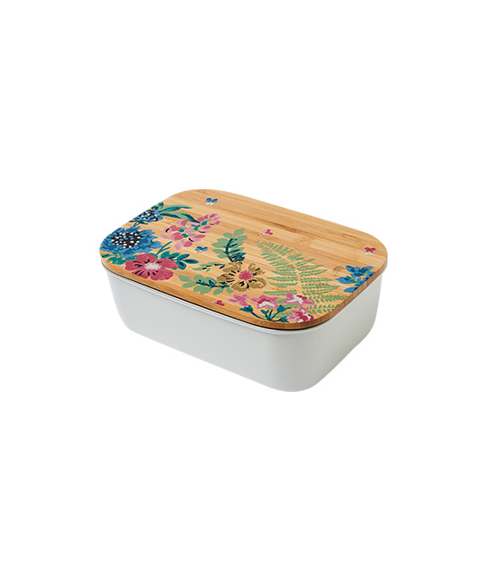 Twilight Garden stainless steel lunch box, $49, [B]Cath Kidston[/B]