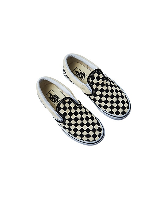 Classic checkered slip-on shoes, $69, [B]VANS[/B]