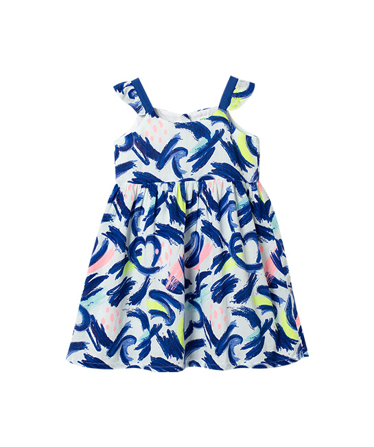 Heart and Graffiti print sleeveless dress, $43.90, [B]bossini[/B]
