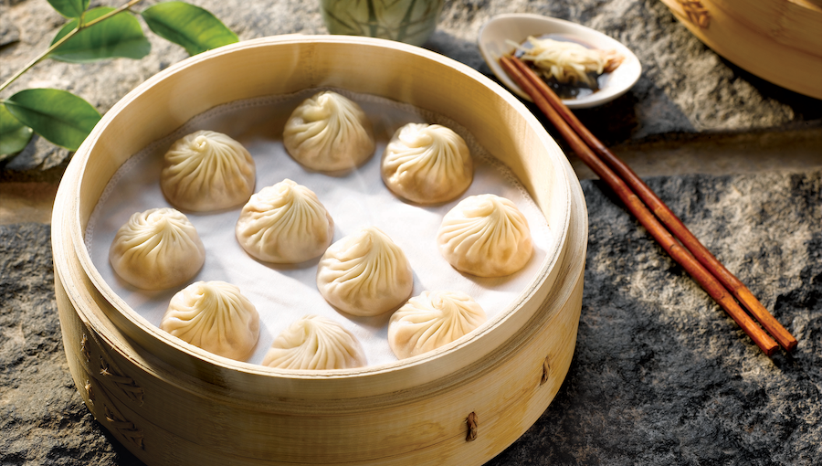 [B]Din Tai Fung[/B] [BR]You can never go wrong with Din Tai Fung's World Famous Steamed Pork Xiao Long Bao, $11.30, and award-winning Fried Rice with Shrimps & Eggs, $13.80.