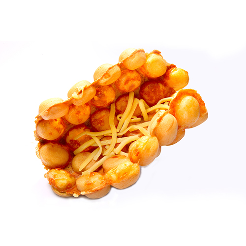 [B]Hong Kong Egglet[/B] [BR]The little ones love this popular street snack from Hong Kong for its adorable shape. Best of all, it now comes in a tasty cheese version, $3.50. A must-try for all kids!