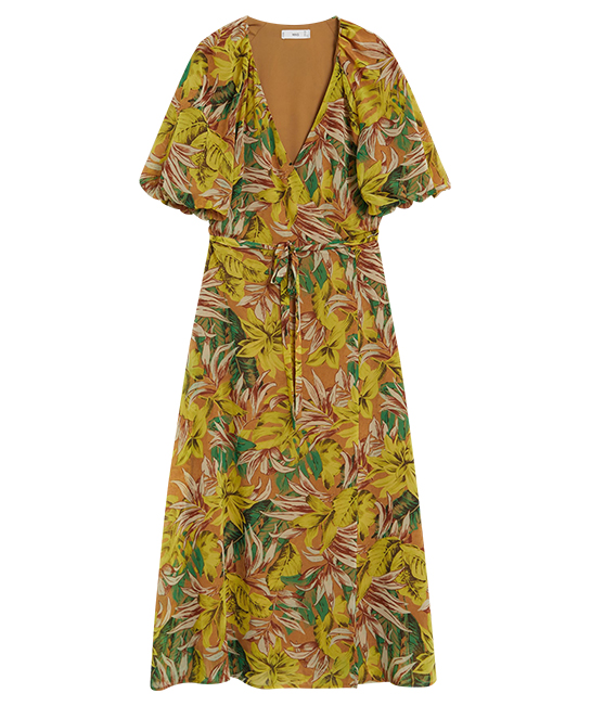 Tropical print dress, $99.90, [B]Mango[/B]