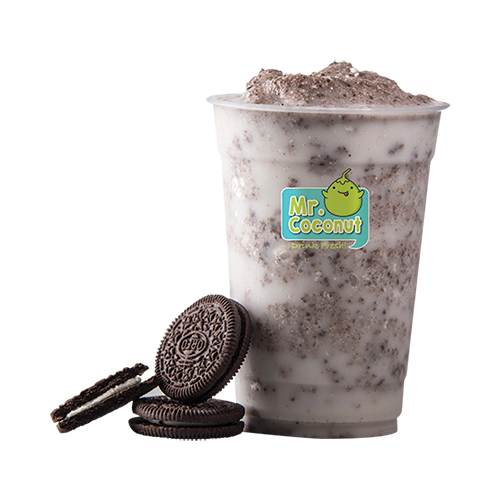 [B]Mr. Coconut[/B] [BR]You'll go (coco)nuts over the Coconut Oreo Shake, from $4.80, a creamy concoction of fresh Thai coconut and Oreo biscuits.