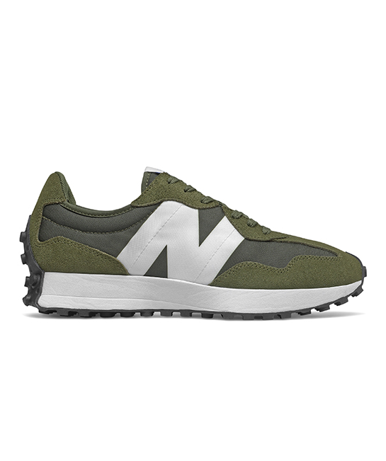MS327CPE Olive & White sneakers, $149, [B]New Balance[/B]