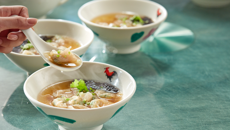 [B]PUTIEN[/B] [BR]The origins of PUTIEN's Bian Rou Soup, $4.90, stretch back over five centuries to the Qin Dynasty. You'll be dining like royalty with the dish's painstakingly pounded, paper-thin wontons made of delicate pork paste.