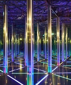 Mirror Maze Jewel Changi Airport