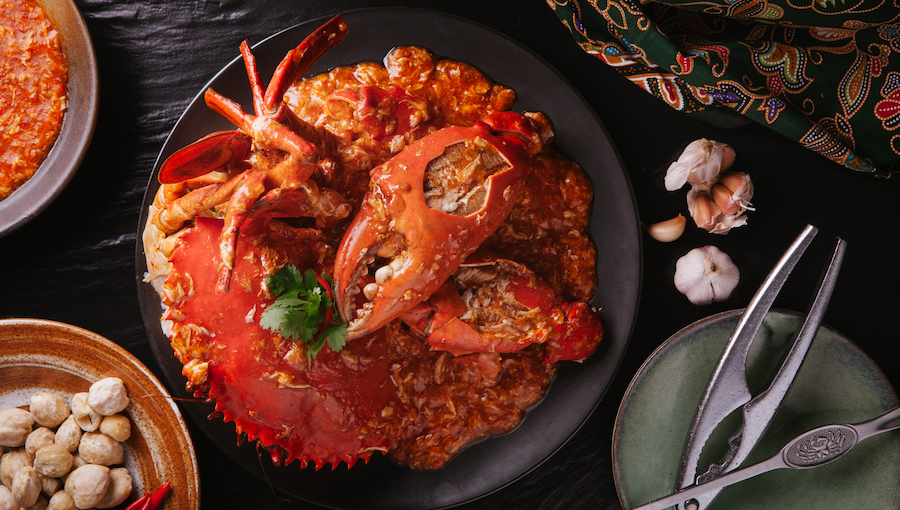 [B]JUMBO Seafood[/B] [BR]The name says it all: JUMBO Seafood's Award-Winning Chilli Crab, $98 for 1kg, flavoured with no fewer than 10 Southeast Asian spices, ticks all the boxes as an iconic Singaporean dish.